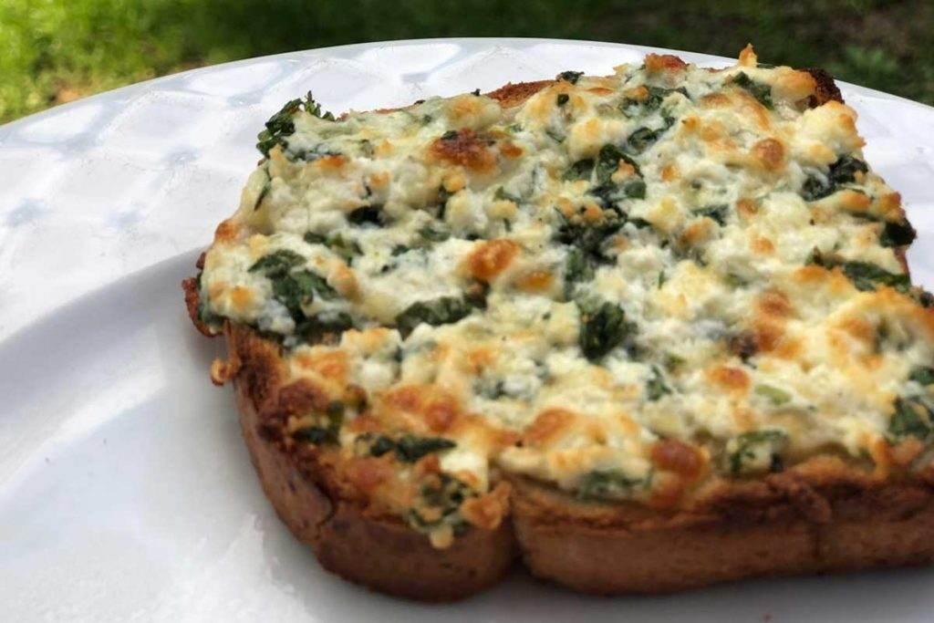Diyet Kahvaltı  – Lor Peynirli Ekmek Dilimleri