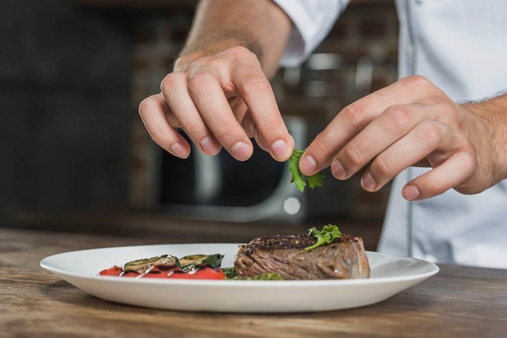 Sağlıklı kolesterol için, ızgara et yemeği