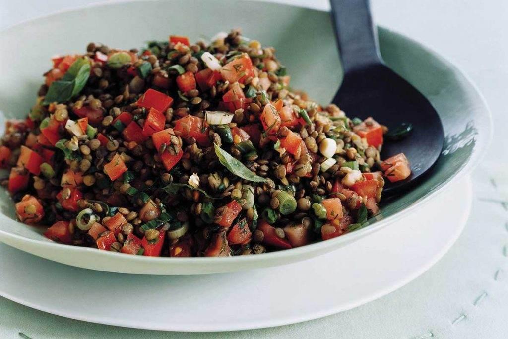 Nil'in Mutfağından Yeşil Mercimek Salatası