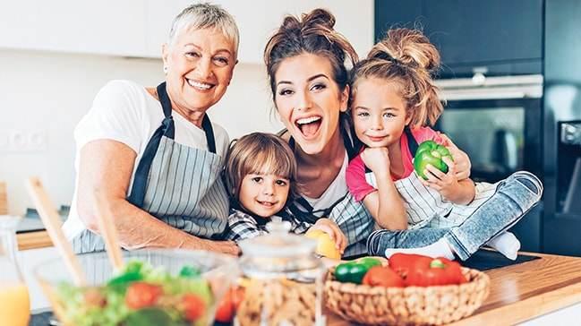 Dengeli ve Doğru Beslenen Çocuklar Daha Sağlıklı